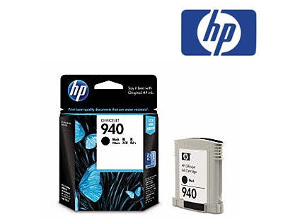 HP C4902AA (HP 940) Genuine  Black Ink Cartridge