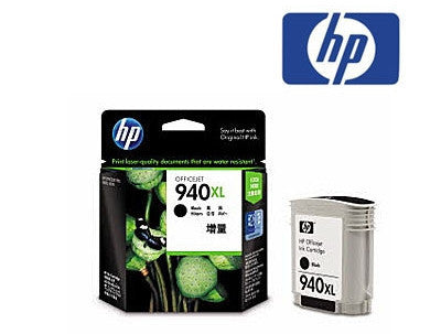 HP 940XL (C4906AA) Black Genuine  High Yield  Ink Cartridge