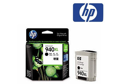 HP C4906AA, HP 940XL genuine printer cartridge for the OfficeJet Pro 8000, OfficeJet Pro 8500, printers by HP