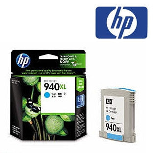 HP C4907AA (HP 940XL) Genuine  Cyan High Yield  Ink Cartridge