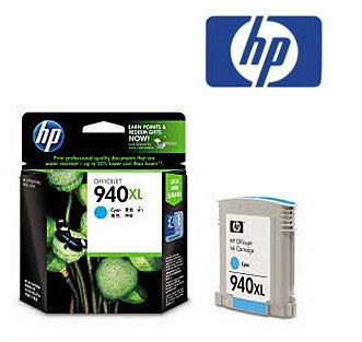 HP C4909AA (HP 940XL) Genuine  Yellow High Yield  Ink Cartridge