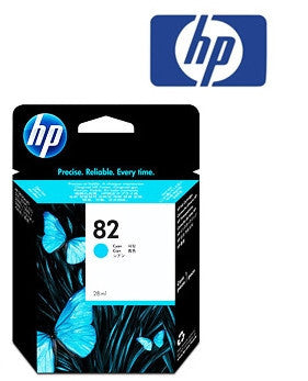 HP C4911A (HP82) Genuine Cyan Ink Cartridge
