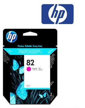 HP C4912A (HP82) Genuine Magenta Ink Cartridge