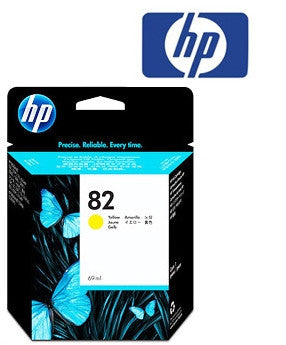 HP C4913A (HP82) Genuine Yellow Ink Cartridge