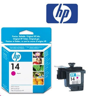 HP C4922A (HP 14) Genuine  Magenta Printhead Wide Format Ink Cartridge