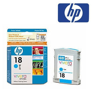 HP C4937A (HP 18) Genuine Cyan Ink Cartridge