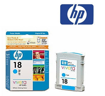 HP C4936A (HP 18) Genuine Black Ink Cartridge