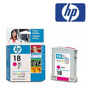 HP C4938A (HP 18) Genuine Magenta Ink Cartridge
