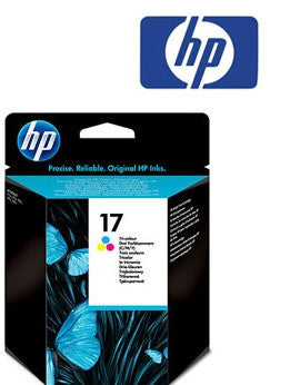 HP C6625A (HP 17) Genuine Tricolour Ink Cartridge