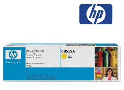 HP C8552A Genuine Yellow Toner Cartridge