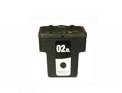 HP02XL (C8719) High Yield Black Ink Cartridge Remanufactured