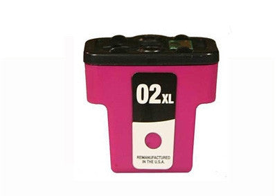 HP02 (C8731) Magenta High Yield Ink Cartridge Remanufactured