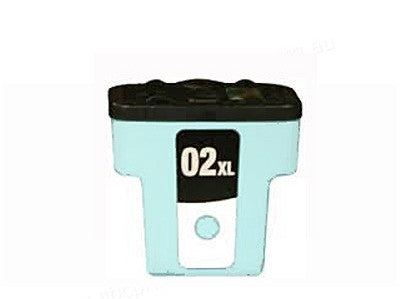 HP02XL (C8733) High Yield Light Cyan Ink Cartridge Remanufactured