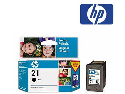 HP C9351AA (HP 21) Genuine Black Ink Cartridge