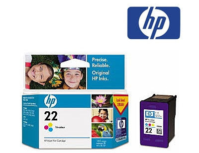 HP C9352AA (HP 22) Genuine Tricolour Ink Cartridge