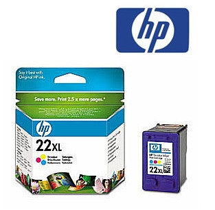 HP C9352CA (HP 22XL) Genuine Tricolour High Yield Ink Cartridge