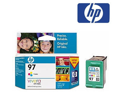 HP C9363WA (HP 97) Genuine Tricolour Ink Cartridge