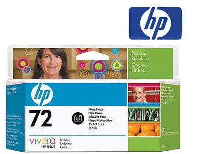 HP C9370A (HP 72) Genuine High Yield Photo Black Ink Cartridge