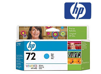 HP C9371A (HP 72) Genuine High Yield Cyan Ink Cartridge