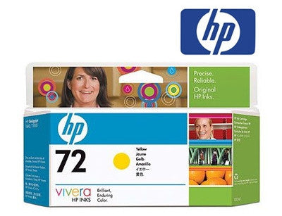 HP C9373A (HP 72) Genuine High Yield Yellow Ink Cartridge