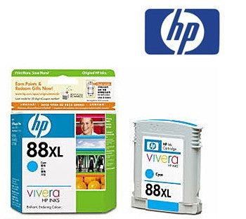 HP C9393A, HP 88XL genuine cyan  Inkjet Cartridge