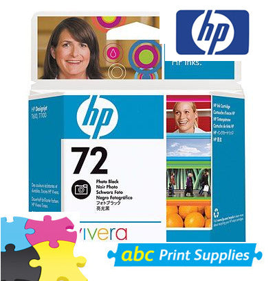 HP C9370A (HP 72) Genuine Photo Black Ink Cartridge