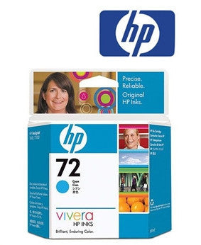 HP C9398A (HP 72) Genuine Cyan Ink Cartridge