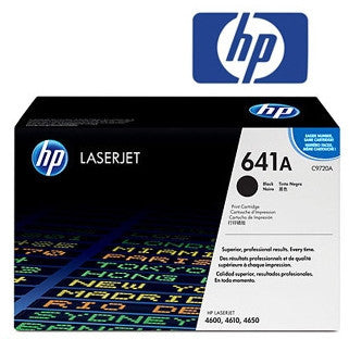 HP C9720A (641A) Genuine Black Toner Cartridge