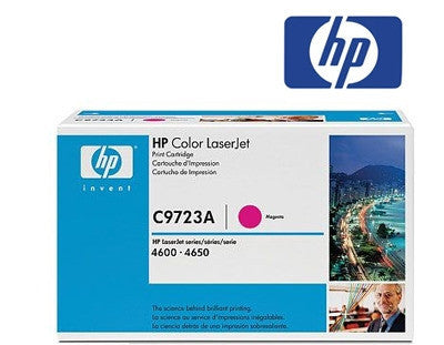 HP C9723A Genuine Magenta Toner Cartridge