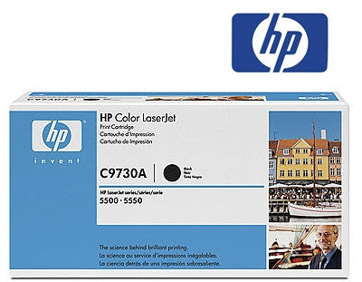 HP C9730A  Genuine Laser Toner Cartridge - 13,000 page yield