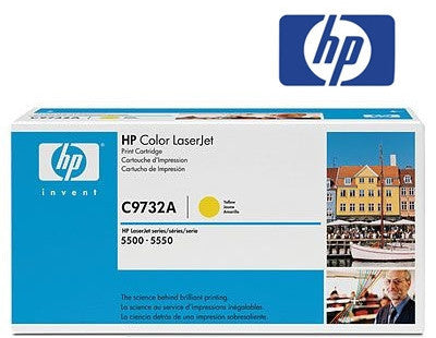 HP C9732A Genuine  Laser Toner Cartridge - 12,000 page yield