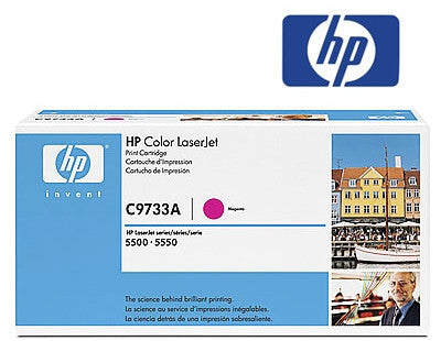 HP C9733A Genuine  Laser Toner Cartridge - 12,000 page yield
