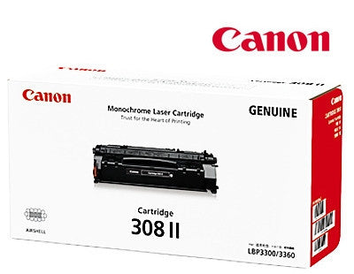Canon Cart-308II laser toner cartridge for Canon Laser Shot  LBP3300,  LBP3360 printers
