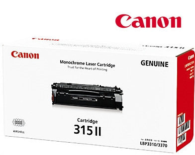 Canon CART-315II  Genuine High Yield Black Toner Cartridge