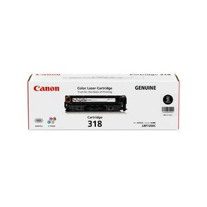 Canon Cart318BK Black Laser  Cartridge  Genuine
