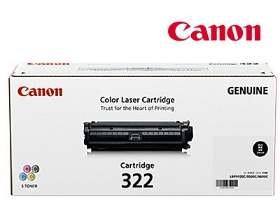 Canon CART-322BK genuine black toner cartridge