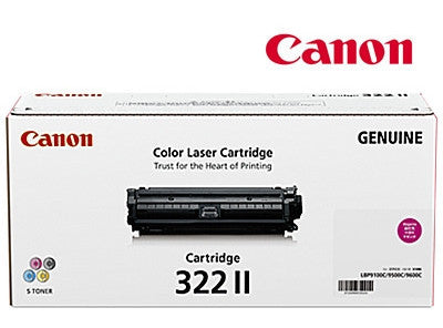 Canon Cart-322MII Genuine Magenta High Yield Toner  Cartridge