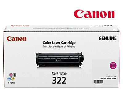 Canon Cart-322M Genuine Magenta Laser  Cartridge