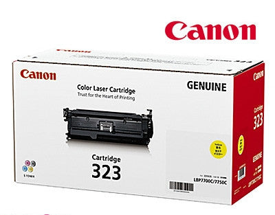 Canon CART-323Y genuine printer cartridge