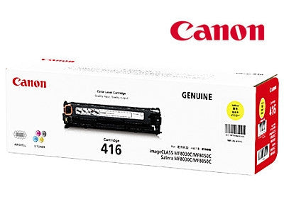 Canon CART-416Y genuine printer cartridge