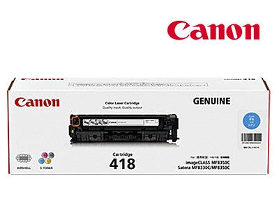 Canon CART418C genuine printer cartridge