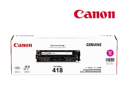 Canon CART418M  genuine printer cartridge