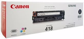 Canon CART-418B Genuine Black Toner Cartridge