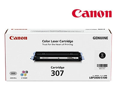 Canon Cart-307BK Genuine Black Toner Cartridge