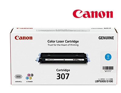 Canon Cart-307C genuine Cyan Toner Cartridge