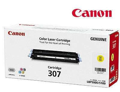 Canon Cart-307Y genuine printer cartridge