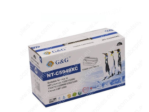 HP 49X High Yield Toner Cartridge Compatible