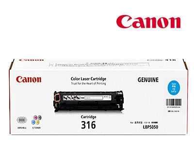 Canon Cart316C Genuine Cyan Cartridge