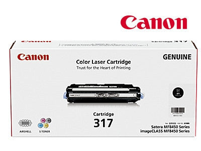 Canon CART317BK  genuine printer cartridge