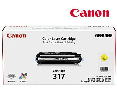 Canon CART-317Y  genuine printer cartridge